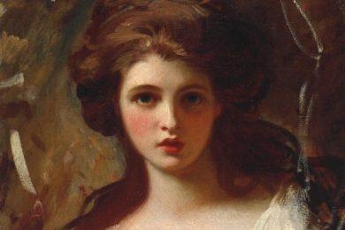 Emma Hamilton painting